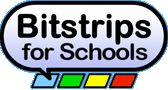Bitstrips for Schools: Students create comic strips to support curriculum.  Love that they can upload images too.