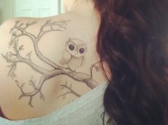 Small owl tattoo - 55 Awesome Owl Tattoos  <3 <3