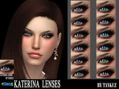 Sims 4 CC's - The Best: Eyes by Tankuz Sims Blog