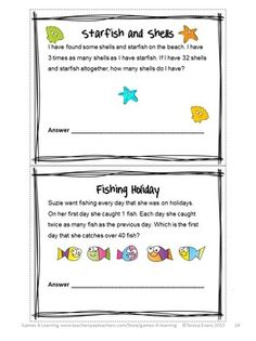 Summer Math Puzzles is a collection of printable math puzzle sheets from Games 4 Learning - Math to make them think! :) $