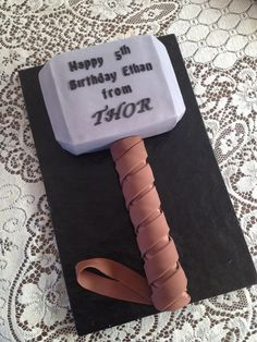 Pin The Thor Cake Cake on Pinterest
