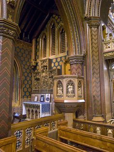 File:St Giles RC Church Cheadle Staffs pulpit.jpg