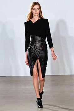 New York Fall 2013 Trend Report - Runway Fall Fashion Trends 2013 - Harper's BAZAAR