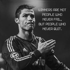 Ronaldo all time best. - Ronaldo all time best. Football Quotes, Soccer Quotes, Sport Quotes, Football Names, Football Awards, Football Football, Work Motivational Quotes, Great Quotes, Positive Quotes