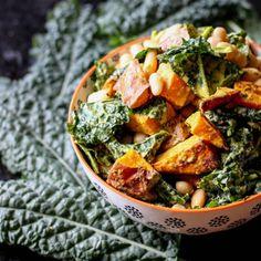 Kumara, Kale and Cannellini Salad