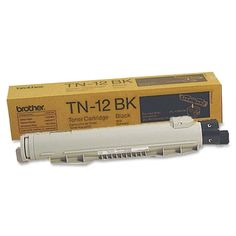 Brother TN12BK Black Toner Cartridge Cartridge #TN12BK #Brother #TonerCartridges  https://www.officecrave.com/brother-tn12bk.html