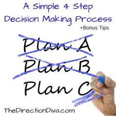 Making decisions isn
