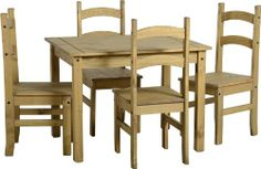 Mexican Carona Pine/Furniture/Dining Table
