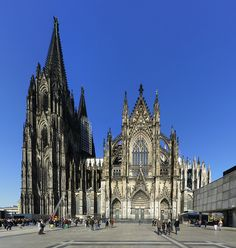 632 - years. Kölner Dom (Cologne Cathedral), Cologne, Germany (1248-1880); longest construction time of any building in history (632 years); at its completion it was the tallest structure in the world; largest façade of any church in the world (Image Credit: James Darpinian, CC-BY-NC). More info: http://en.wikipedia.org/wiki/Cologne_Cathedral