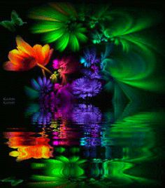 Fantasy59  Deep and rich, yet still fabulously colorful!