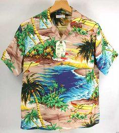 サンサーフ /アロハシャツ/WAIKIKI SHORE・ss305995-125/sun surf