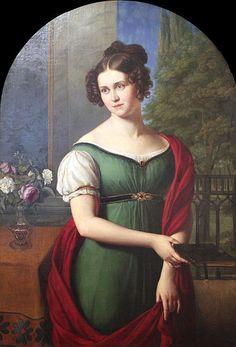 Wilhelm von Schadow: Porträt von Lili Parthey, 1823