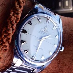 Vintage OMEGA Constellation Chronometer In Stainless Steel Circa 1950s