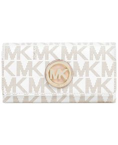MICHAEL Michael Kors Fulton Carryall Wallet - Wallets & Wristlets - Handbags & Accessories - Macy's