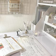 desk study stationery coffee milk soft minimalistic aesthetic home interior korean apartment kawaii g e o r g i a n a : f u t u r e h o m e Study Areas, Study Space, Desk Space, Study Room Decor, Study Rooms, Study Corner, Desk Inspiration, Desk Inspo, Study Organization