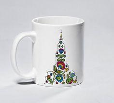 Kubek - Folk Pałac - pamiątka z Warszawy