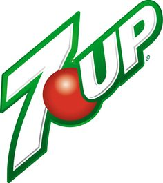 This logo is appropriate for 7 up, as the font suggests it is energetic. The green trace around the font looks very nice.