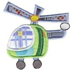 On the Move Applique 17 Designs, 2 Sizes! | Airplanes | Machine Embroidery Designs | SWAKembroidery.com Bunnycup Embroidery