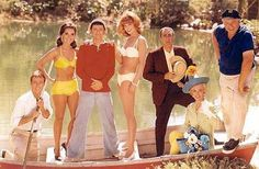 Gilligan!!! As a kid I couldn't fathom why he was always aloud to screw things up but I couldn't wait to see what creative way he would do it. Ginger was a bonus.