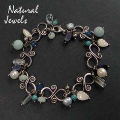Blue Embrace | SHOP - bracelets | NaturalJewels