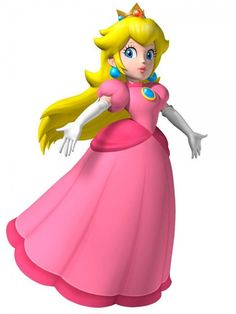 Princess peach & 9 other mario characters