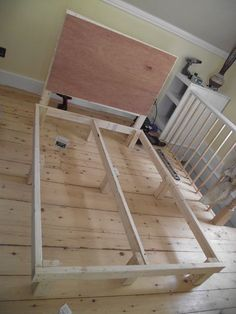$15 Bed frame. Questioning the amount listed but maybe it was $15 st the time he built it. Probably more now.