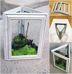 10 Creative Ways to Decorate with Dollar Store Picture Frames 2