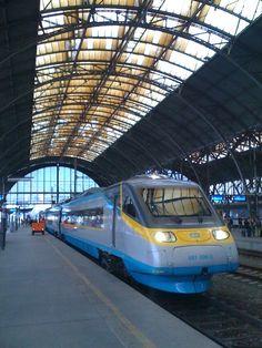 Praha hlavní nádraží | Prague Main Railway Station in Praha, Hlavní město Praha