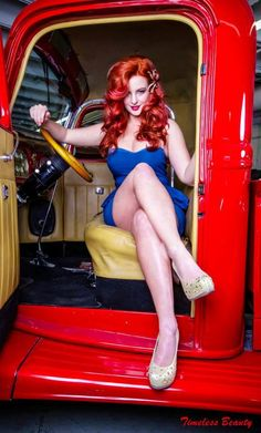 hotrod-girls: Hotrod Pinup , check more here :... - My Collection