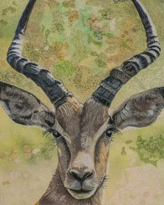 Hey, I found this really awesome Etsy listing at https://www.etsy.com/listing/221335490/impala-original-thread-painting-fiber