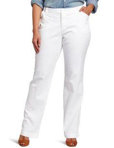 Lee Women's Plus-Size Comfort Fit Straight Leg Pant