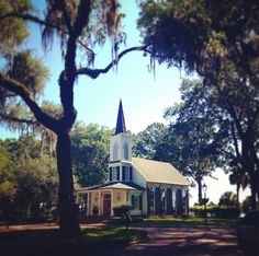 The Waterside Chapel  at Palmetto Bluff.