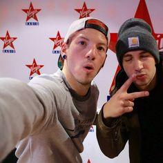 Josh & Tyler at Virgin Radio (French radio)