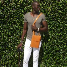 Badara N'Diaye for @Soffio | Flight Bag | Worldwide Express Shipping | Affordable luxury accessories