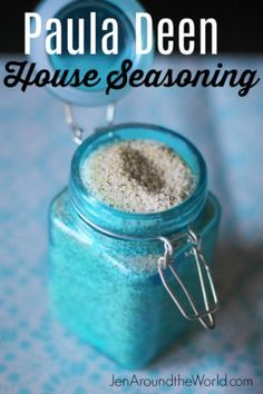 I love making my very own seasonings. I recently found this one for Paula Deen House Seasoning. Black Pepper, salt, and garlic powder make this a treat. Homemade Dry Mixes, Homemade Spices, Homemade Seasonings, House Seasoning Recipe, Seasoning Mixes, Paula Deen Seasoning Recipe, Rub Recipes, Cooking Recipes, Cooking Tips
