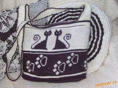 Delicadezas en crochet Gabriela: Bolsa con diseño