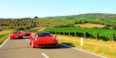 1 Day Ferrari Event In Florence (10 Ferraris 20 guests) Ferrari Tours of Italy drive a Ferrari sport car