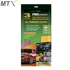 Cleans, Shines, Polishes Scratch-Free and Lint-Free Color-Coded to prevent cross-contamination Microfiber Normal Cloths Lifts and traps dirt and moisture. Push dirt around the surface Car-Motorcycle-Home Kitchen-Bathrooms-Office