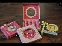 """Verpackung """"Deluxe"""" für 4 Riegel Yogurette, Merci ... mit Produkten von Stampin' Up! - YouTube"""