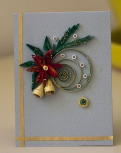 neli: Preparation for Christmas - 2 - quilling