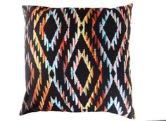 Tribal Cushion Cover Boho Cushion Cover by LittleSewingStudio