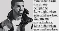 """""""Hotline Bling"""" ~ Drake"""