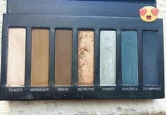 NEW Palette #4 with Blues and Browns. Available at www.looksbycatherine.com