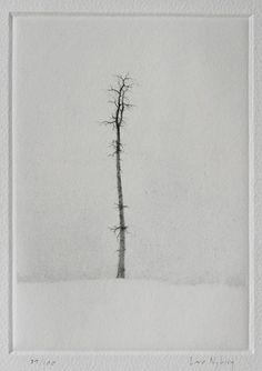 Solitaire Technique: Dry-point Printer: Lars Nyberg