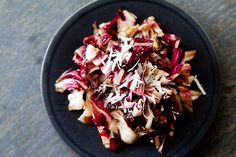 Grilled Radicchio Salad - Have you ever had grilled radicchio? Try it! Excellent with olive oil, balsamic, and a little grated Pecorino.