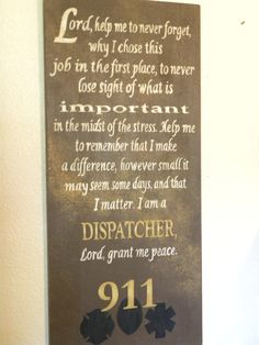 Police officers dating dispatchers prayer