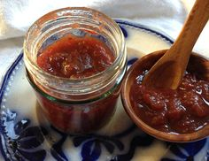 Local restaurant The Mistley Thorn created this recipe for a simple gooseberry chutney for us. It's super simple and keeps until after the summer fruit has finished. | boxtedberries.com | with thanks to @Sherri Singleton