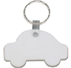 PVC #Flexi #Keyring features a car shape with flexibility and space for your #promotional message, #branding or #logo customised in prime viewing position and your individual promotional marketing.