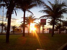 Por do Sol na Barra da Tijuca