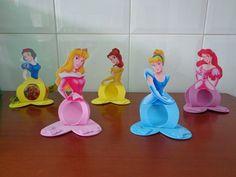 Porta Bombom Princesas- Branca De Neve,cinderela,aurora,etc. - R$ 20,00